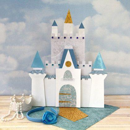Castillo De Princesas Para Imprimir Y Armar