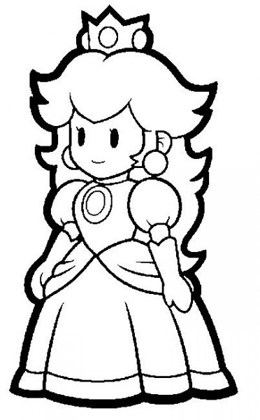 Super Mario Coloring Pages (this Site Has Cute Mario Party Ideas