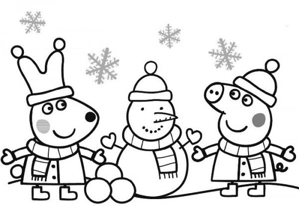 Dibujos De Peppa Pig Para Imprimir Y Colorear; Â¡gratis!