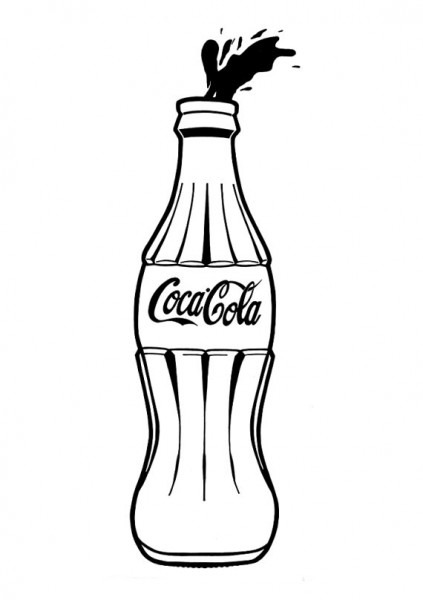 Coke Drawing Free Download On Ayoqq Org