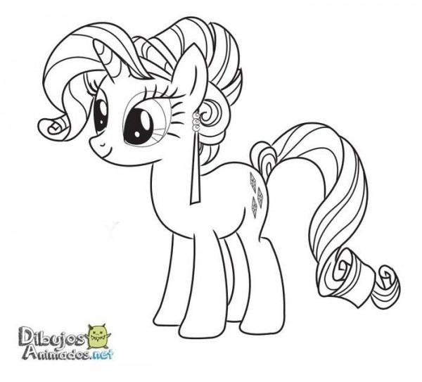 Dibujos Para Colorear Mi Pequeño Pony