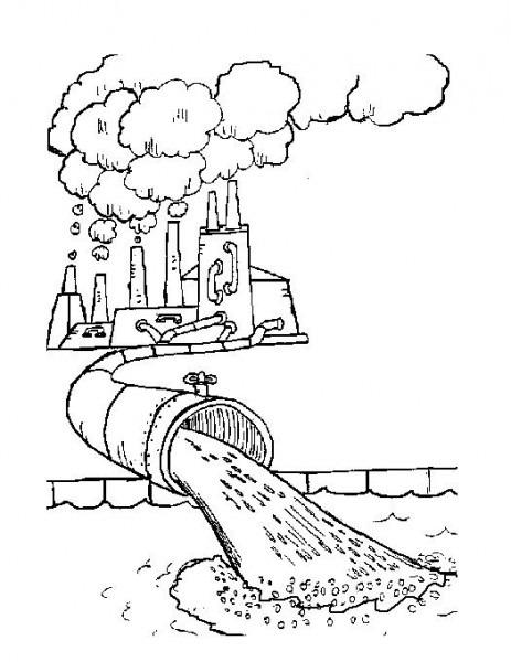 Fábrica Contaminando
