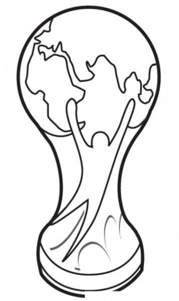 La Copa Mundial De Rusia Para Colorear