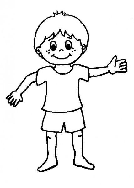 Dibujos Figura Humana Para Colorear