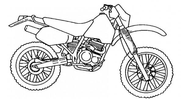 Dibujos De Motos Para Colorear E Imprimir