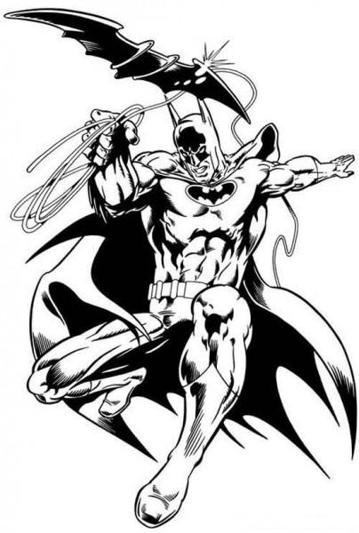 Batman Del Futuro Para Colorear