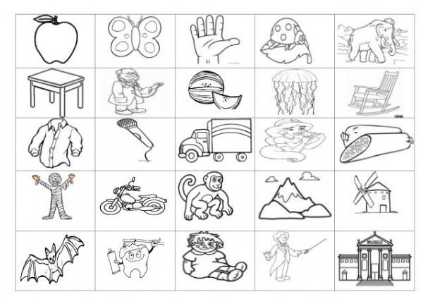 Resultado De Imagen Para Dibujos Que Empiezan Con M