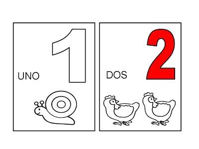Te Cuento Un Cuento  Números Del 1 Al 20 Por Conjuntos Para Colorerar