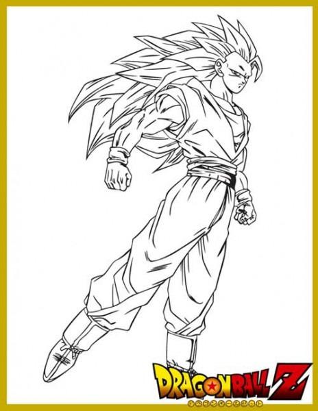Dibujos De Dragon Ball Z Para Pintar