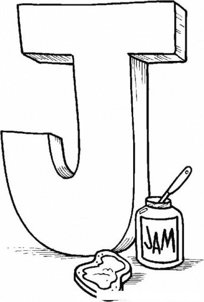Juglar Comienza Con La Letra J Para Colorear