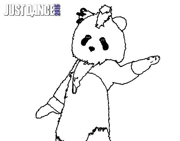 Dance Para Colorear