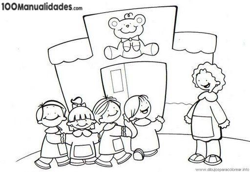 Bano Escuela Dibujo Infantil   Idéia Interessante De Design De