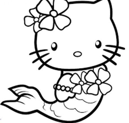 ▷ Los Mejores Dibujos De Hello Kitty Para Divertirse Coloreando
