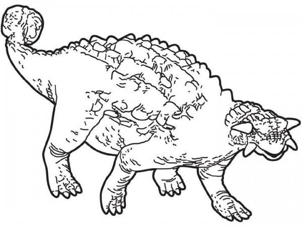 Dibujos Para Colorear Anodontosauro
