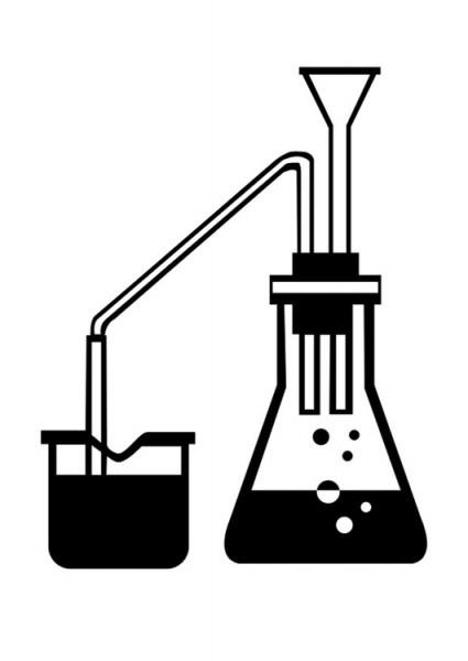Dibujo Para Colorear Ciencia