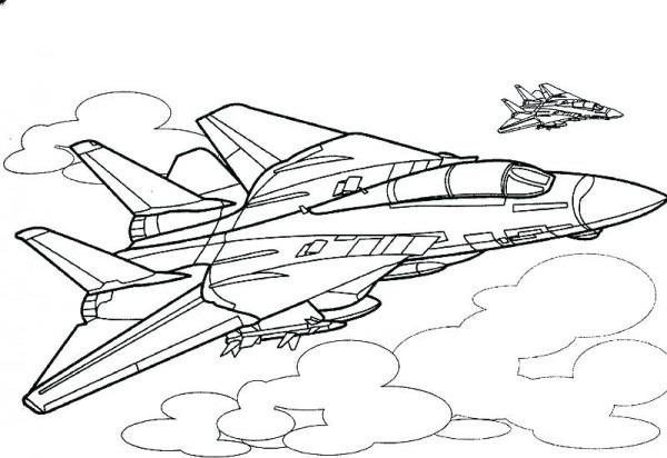 Imagenes De Aviones De Guerra Para Colorear