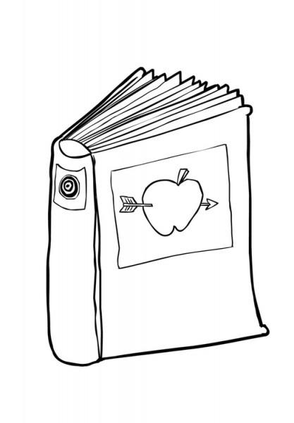 Dibujo Para Colorear Libro (2)
