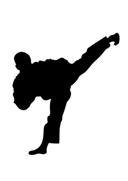 Dibujo Para Colorear Taekwondo