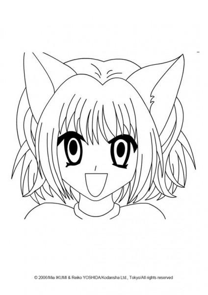 Dibujos Para Colorear Manga