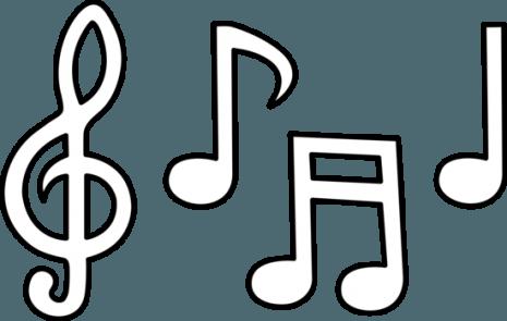 Notas Musicales Dibujos Para Colorear