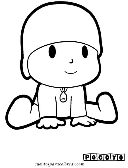 Dibujos Infantiles Para Colorear E Imprimir Pocoyo Dibujos De
