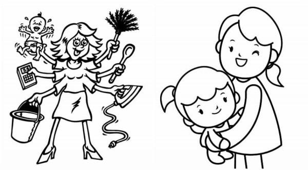 9 Dibujos Para El Dia De La Madre