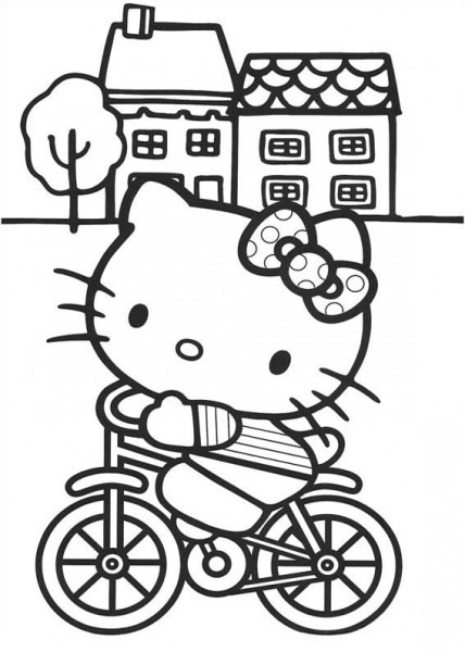 18 Dibujos O Imágenes De Hello Kitty Para Colorear