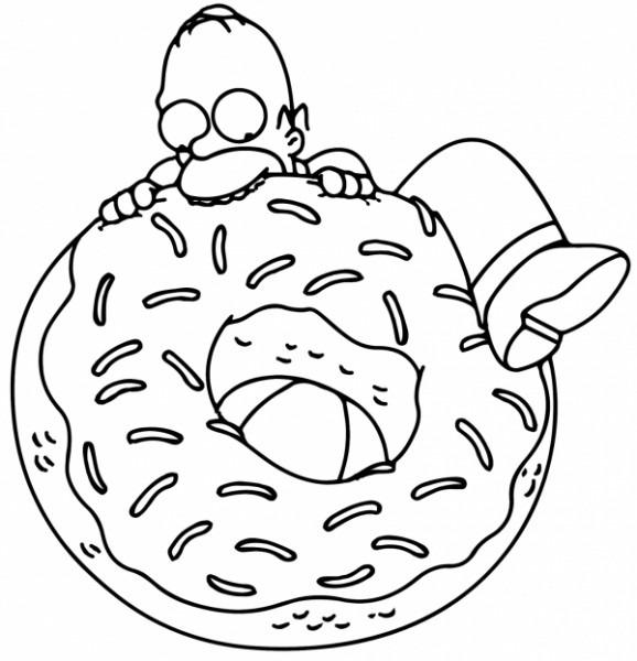 Dibujos De Los Simpson Para Colorear, The Simpsons Imágenes