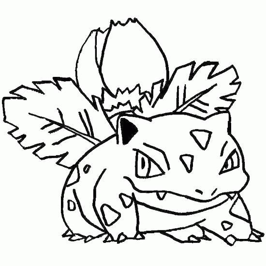 Dibujos Para Colorear De Pokémon
