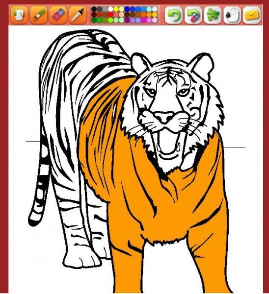 Colorear Animales En Linea