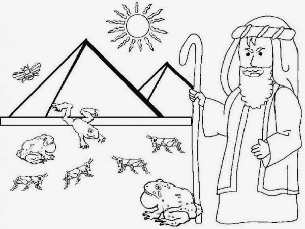 Imagenes Cristianas Para Colorear  Dibujos Para Colorear De Las