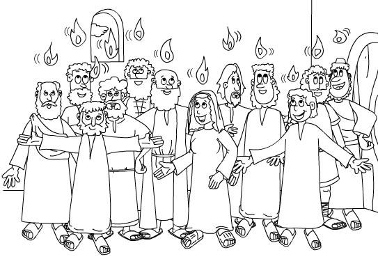 Colorea Tus Dibujos  Doce Apóstoles Para Colorear Y Pintar