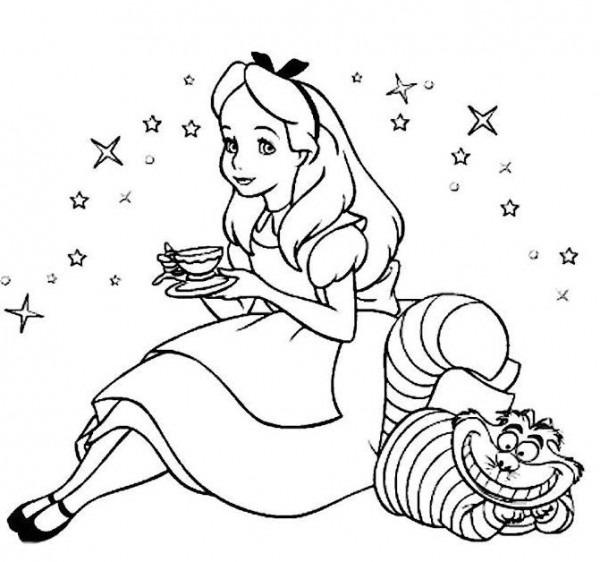 Alice In Wonderland  60 (películas De Animación) – Páginas Para