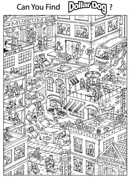 Ciudad  11 (edificios Y Arquitectura) – Páginas Para Colorear