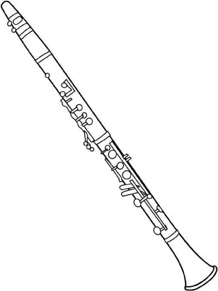 Instrumentos Musicales  116 (objetos) – Páginas Para Colorear
