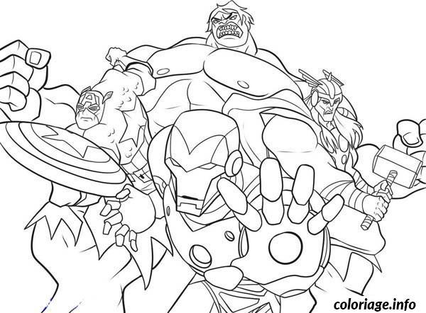 Marvel Super Heroes  189 (superhéroes) – Páginas Para Colorear