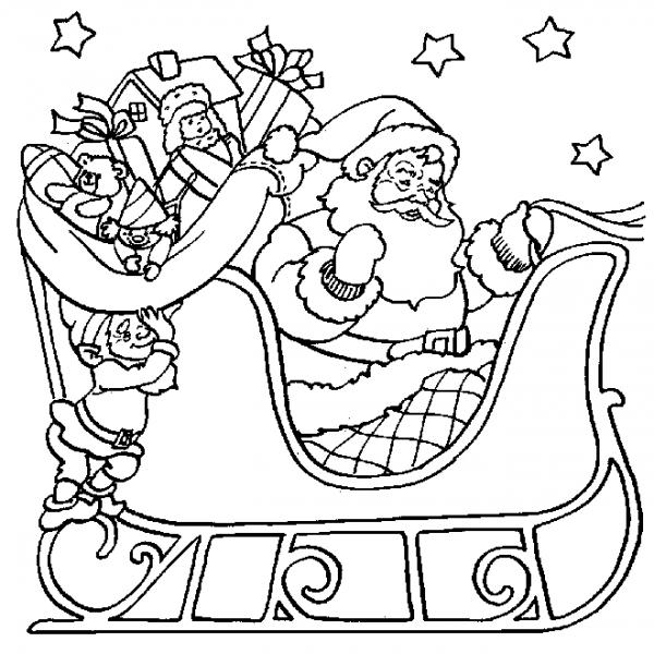 Navidad  5 (fiestas Y Ocasiones Especiales) – Páginas Para Colorear