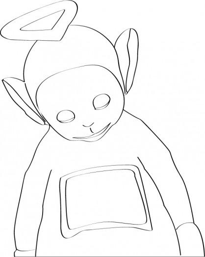 Teletubbies  76 (dibujos Animados) – Páginas Para Colorear