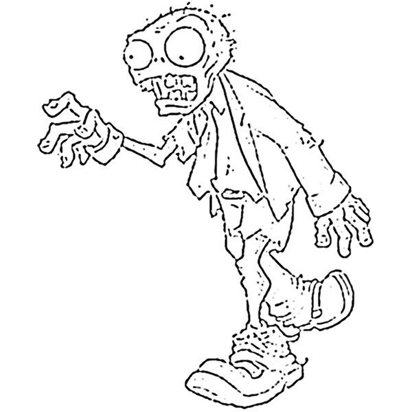 Zombi  49 (personajes) – Páginas Para Colorear