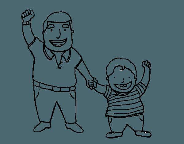 Resultado De Imagen Para Dibujo De Padres E Hijos