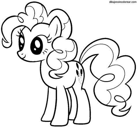 Dibujos Sin Colorear  Dibujos De My Little Pony Para Colorear