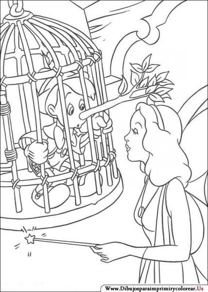 Dibujos De Pinocho Para Imprimir Y Colorear