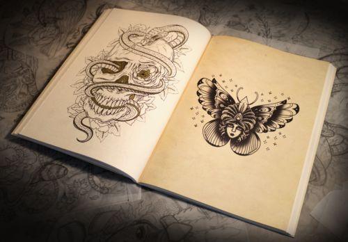 Libro De Tatuajes Para Colorear