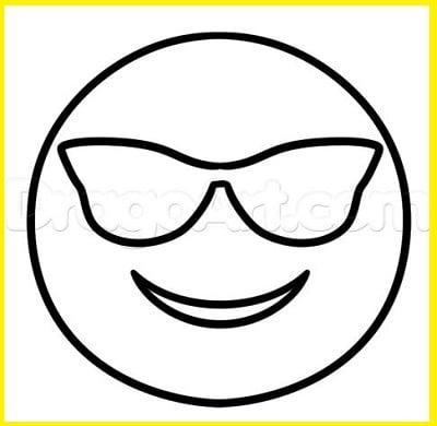 Emoticonos Whatsapp Para Colorear
