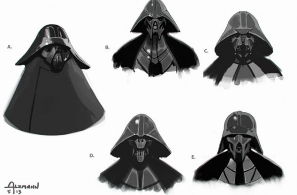 Darth Vader  Evolucion De La Mascara De Kylo Ren A La Mascara De