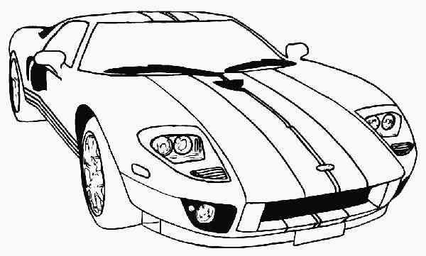 Colorear Autos Y Motos (32)