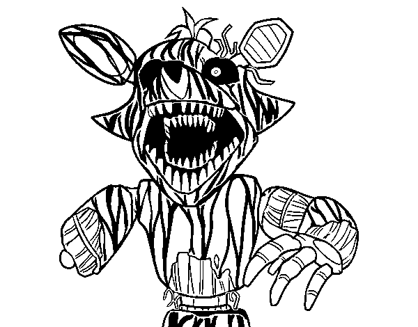 Imagenes De Five Nights At Freddys Para Colorear