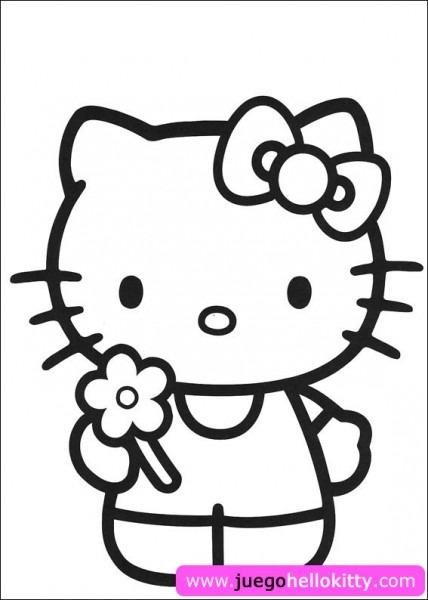 Hello Kitty Juego De Pintar A Hello Kitty