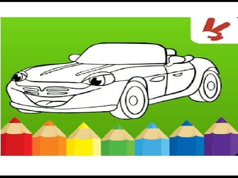 Juego De Colorear Carros Para Niños