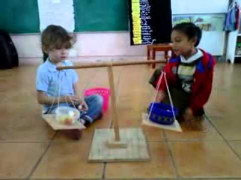 Medición En Preescolar  La Balanza 3